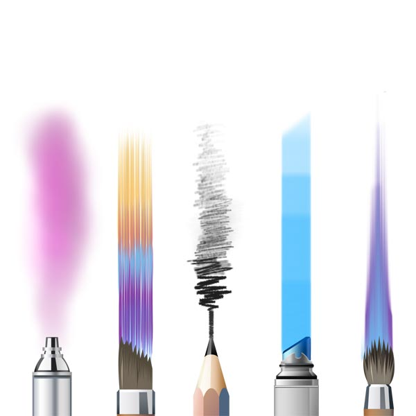 essentials brushes